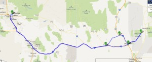 las_cruces_trip_map