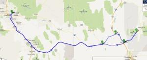las_cruces_trip_map