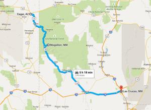 2015-06-29 09_01_45-Eagar, AZ to Las Cruces, NM - Google Maps