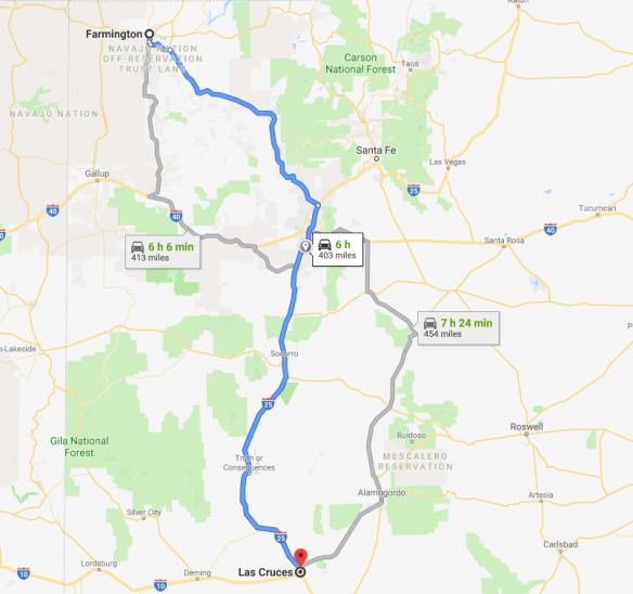 2019-08-22 14_09_03-Farmington, NM to Las Cruces, NM - Google Maps